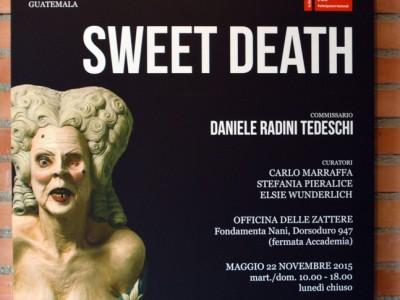 EXPO « SWEET DEATH », BIENNALE DE VENISE 2015