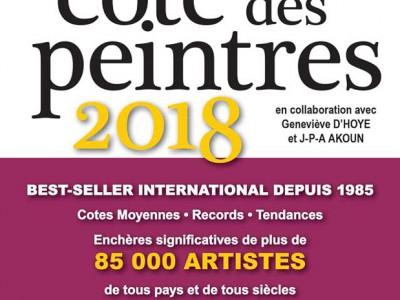 HUGO H. ARTISTE-PEINTRE COTÉ PAR ART-MAJEUR ET J-A AKOUN