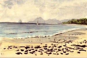 La plage des salines