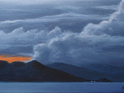 L'aube sur Batanta