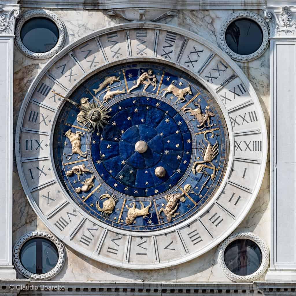 Grosse Horloge Fer Forgé la tour de l'horloge, place saint marc À venise - venisejetaime